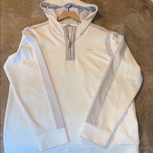 Men's Calvin Klein quarter zip sweater